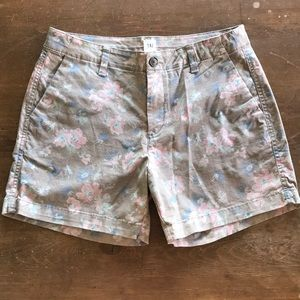 Cute Shorts with Flower print